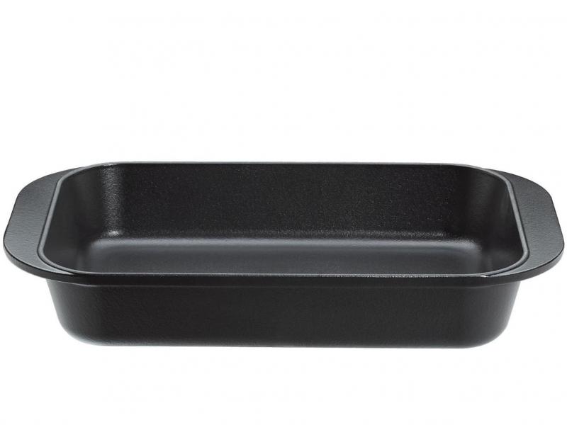 Küchenprofi litinový pekáč Provence, 43 x 25 cm - Černý