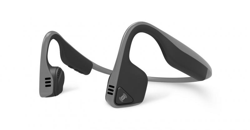 AfterShokz Trekz Titanium, Bluetooth sluchátka před uši, - šedá AS600SG