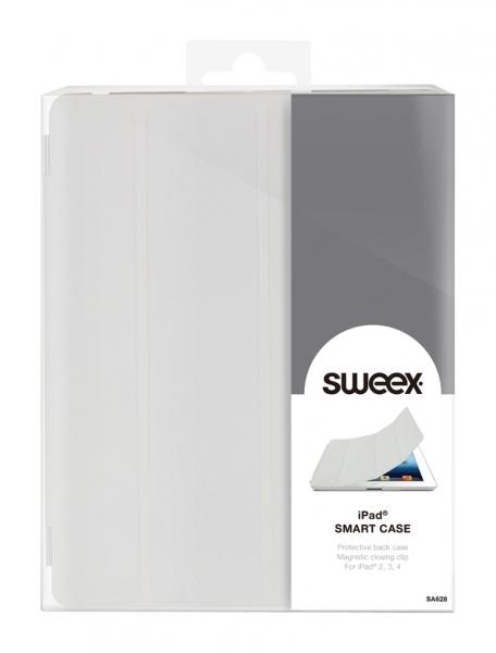 Pouzdro Sweex pro Apple iPad 2/ 3./ 4. generace, - bílé