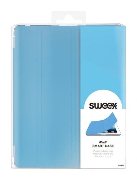 Pouzdro Sweex pro Apple iPad 2/ 3./ 4. generace, - světle modré