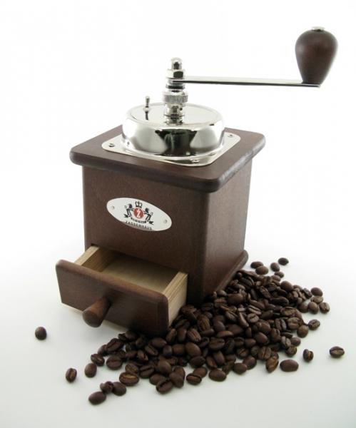 Zassenhaus mlýnek na kávu Brasilia, tměvě hnědý