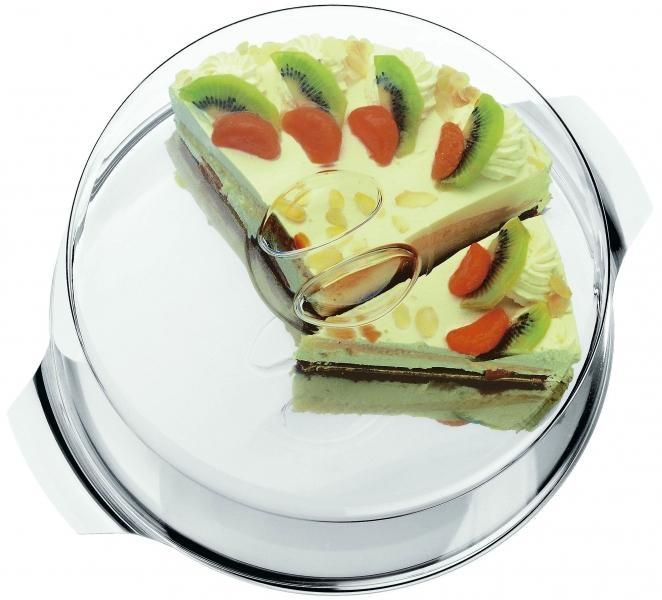 WMF dortový tác s poklopem, 30 cm