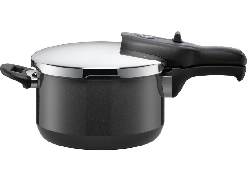 Silit tlakový hrnec Sicomatic® t-plus, 4.5 litru, černý