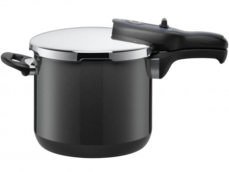 Silit tlakový hrnec Sicomatic® t-plus, 6.5 litru, černý