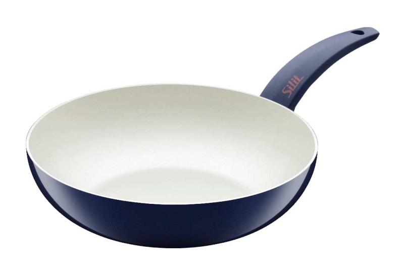 Silit wok pánev Selara, 28 cm - Modrá