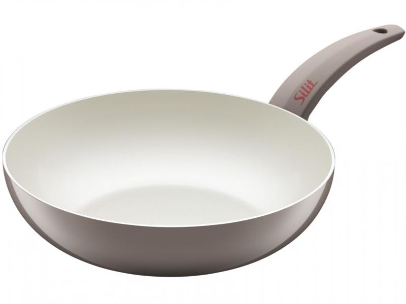 Silit wok pánev Selara, 28 cm - Taupe