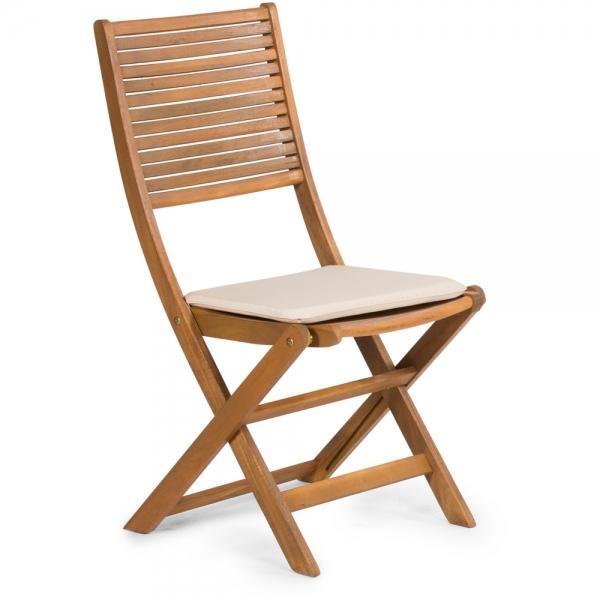 Sedák pro židle Fieldmann FDZN 9019, 38.5 x 38.5 cm - Krémová