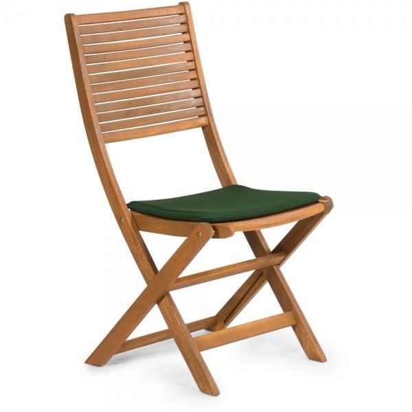 Sedák pro židle Fieldmann FDZN 9018, 38.5 x 38.5 cm - Zelená