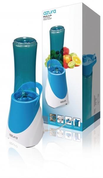 Cestovní mixér Azura, 300 W, modrý/bílý