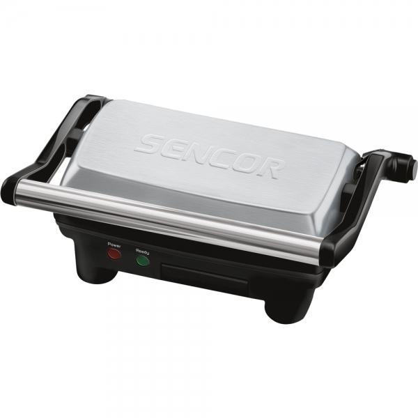 Elektrický gril SENCOR SBG 2050SS - stříbrný