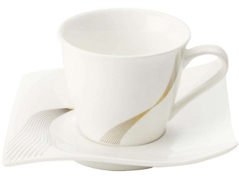 Maxwell & Williams šálek na espresso s podšálkem Frequency, 110 ml