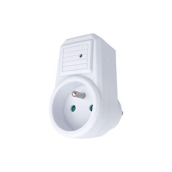 Solight přepěťová ochrana do zásuvky, 236J, 1 zásuvka, kontrolka (PO20)