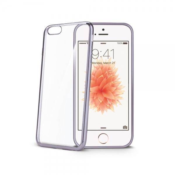 Zadní kryt Celly Laser pro Apple iPhone 5/5S/SE - Černý BCLIPSEDS