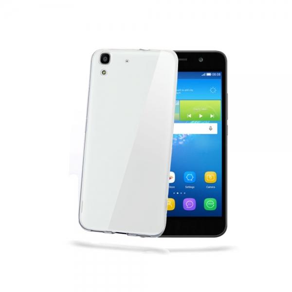 Silikonový obal Celly Gelskin pro Huawei Y6, čirý GELSKIN531