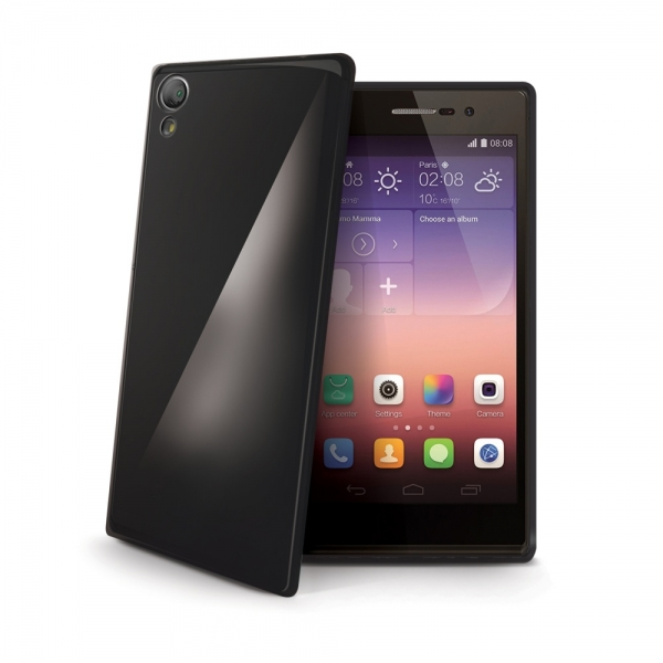 Silikonový obal Celly Gelskin pro Huawei P8 Lite, - černý GELSKIN507BK
