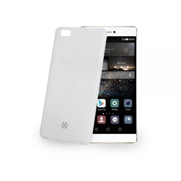 Ultra tenký zadní kryt Celly Frost pro Huawei P8 Lite - Bílý FROSTP8LITE