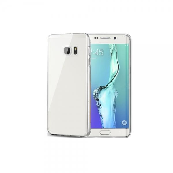 Silikonový obal Celly Gelskin pro Samsung Galaxy S6 Edge Plus, bezbarvé GELSKIN515