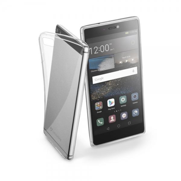 Zadní kryt CellularLine Fine pro Huawei P8, čirý FINECASCP8T