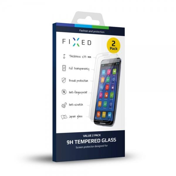 Ochranné tvrzené sklo FIXED pro Huawei P8 Lite, 2ks FIXGT-043-033