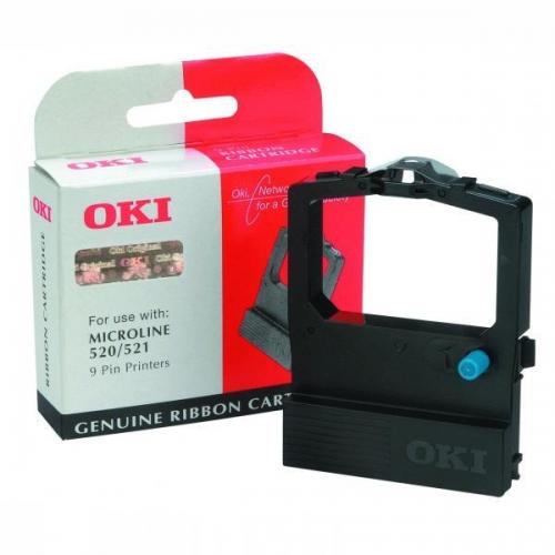 Výprodej - Černá barvící páska pro jehličkové tiskárny OKI ML 520 - Originální