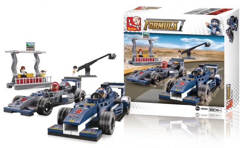Stavebnice Sluban Formula 1 Grand Prix, 287 dílků M38-B0355