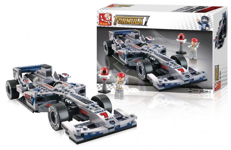 Stavebnice Sluban Formula 1 Formule F1, 300 dílků
