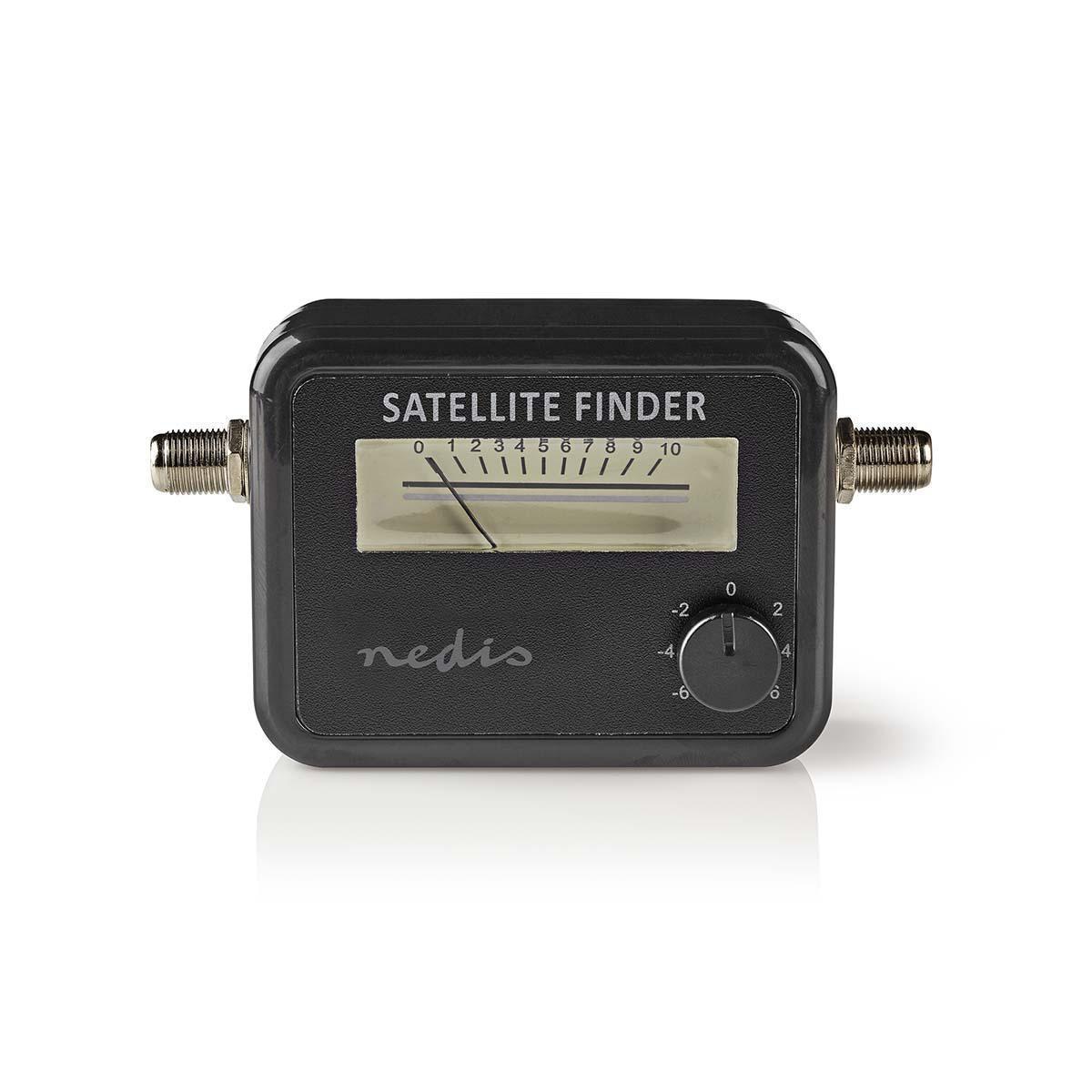 Vyhledávač satelitního signálu König se zvukovou indikací