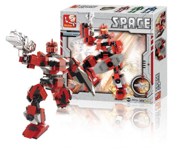 Building Blocks Space Series Ultimate Robot Hephaestus, 285 dílků