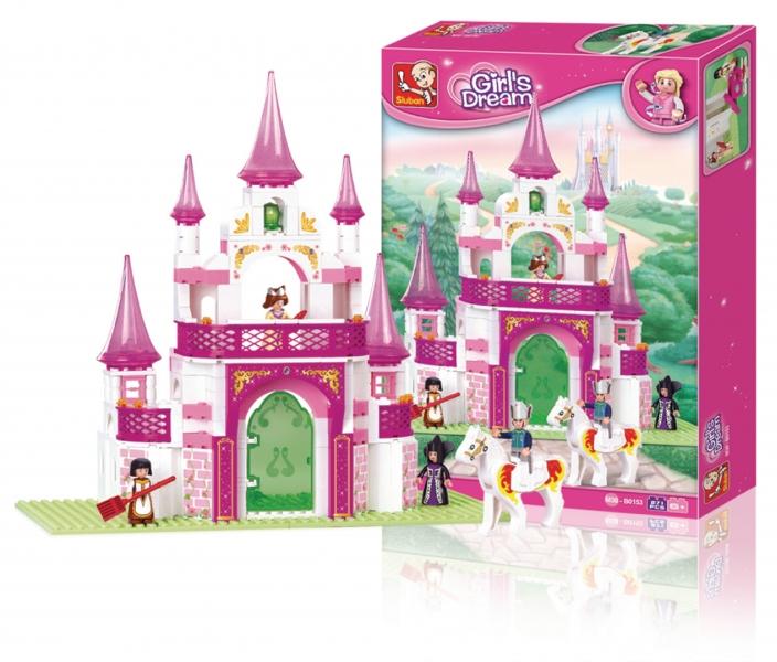 Stavenice Sluban Girls Dream Princeznin palác snů, 271 dílků M38-B0153