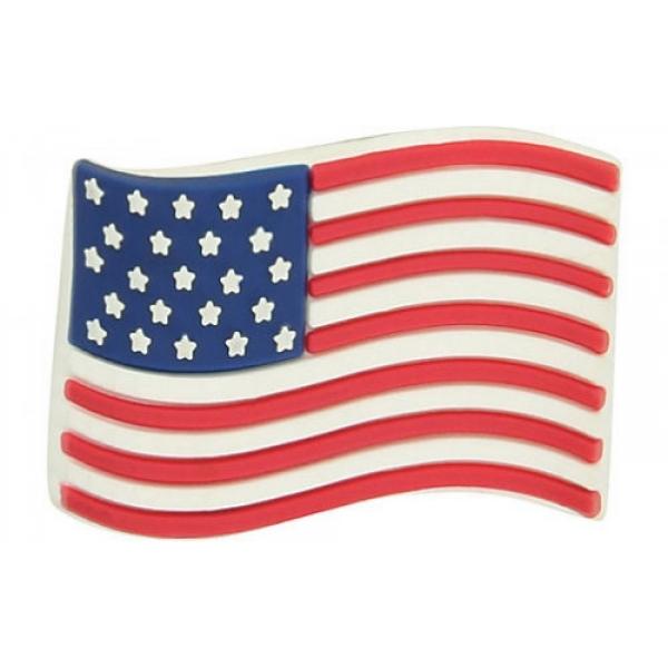Jibbitz odznáček na obuv Crocs Americká vlajka