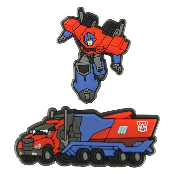 Jibbitz sada odznáčků na obuv Crocs Transformers Optimus Prime 2 Pack