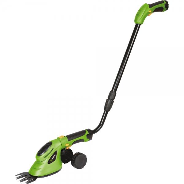 Akumulátorové nůžky na trávu a keře Fieldmann FZN 4102-AT s koly