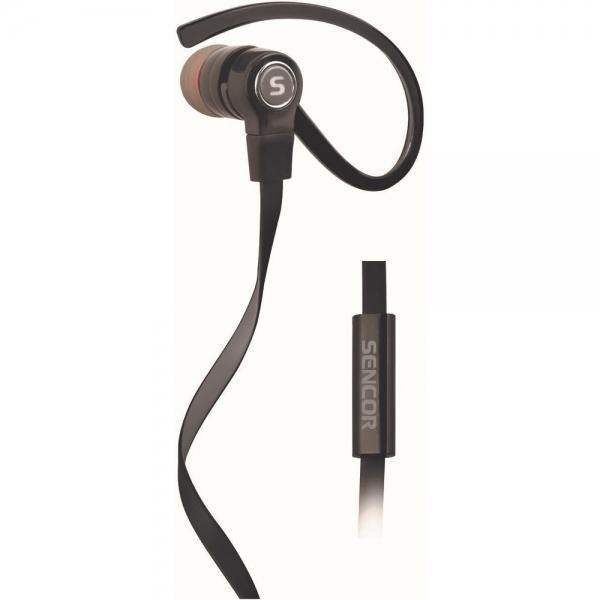 Sportovní sluchátka Sencor SEP 189 MIC - černá