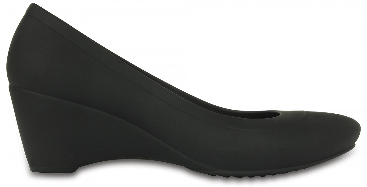 Crocs Lina Wedge Black, W7 (37-38)