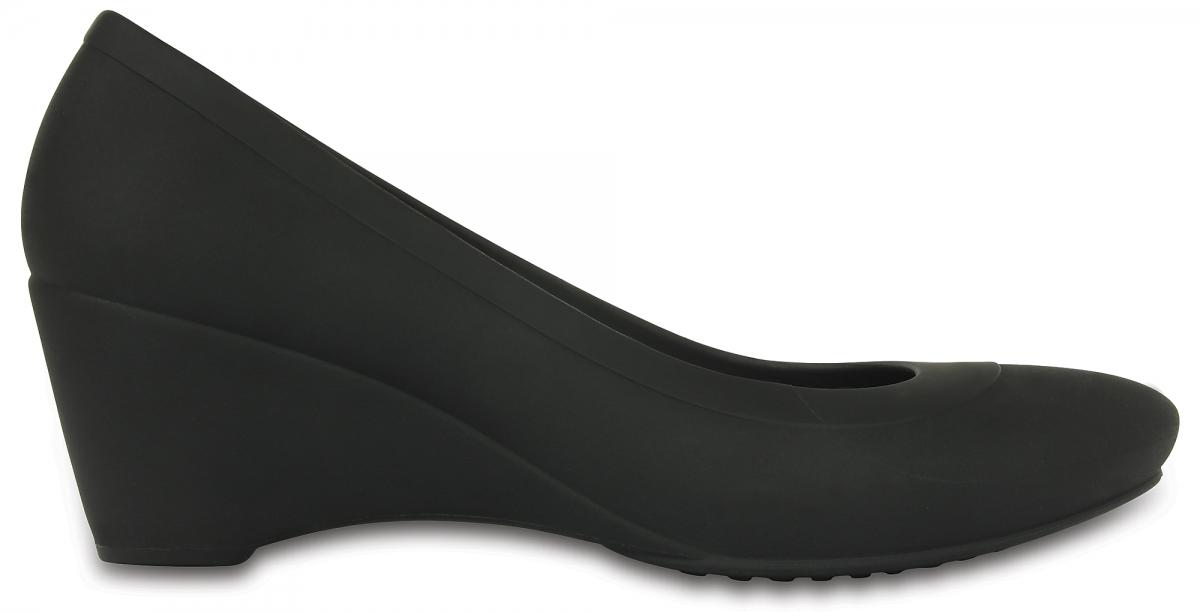 Crocs Lina Wedge - Black, W9 (39-40)