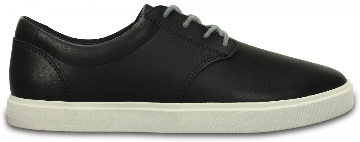 Crocs CitiLane Leather Lace-up - Black/White, M11 (44-45)