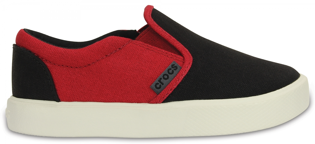Crocs CitiLane Slip-on Sneaker Kids - Black/Pepper, C10 (27-28)
