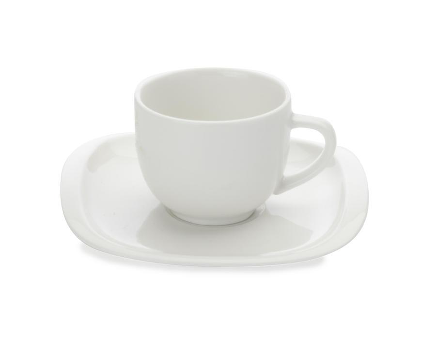 Maxwell & Williams šálek na espresso s podšálkem White Basics Balance, 80 ml