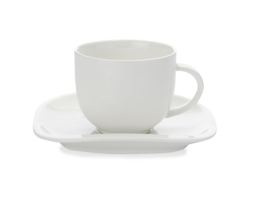 Maxwell & Williams šálek s podšálkem White Basics Balance, 300 ml