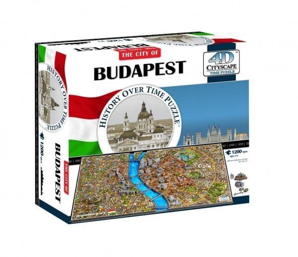 4D City Puzzle - Budapešť