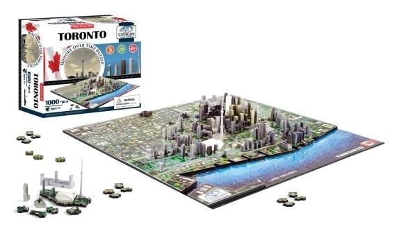 4D City Puzzle - Toronto