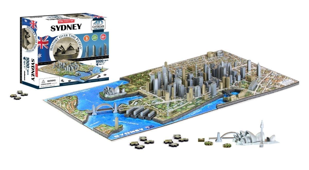 4D City Puzzle - Sydney