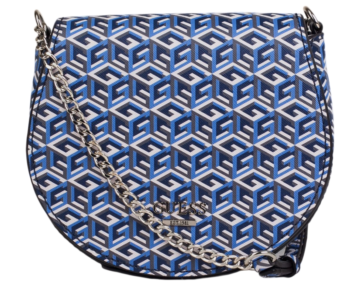 Guess G Cube Bag Blue