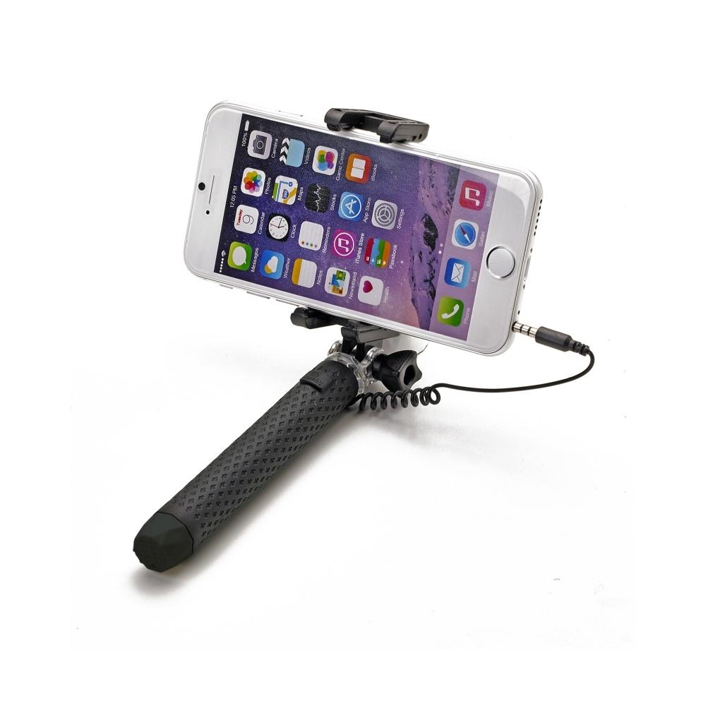 Selfie stick Celly Mini Selfie, se spouští, - černá MINISELFIEBK