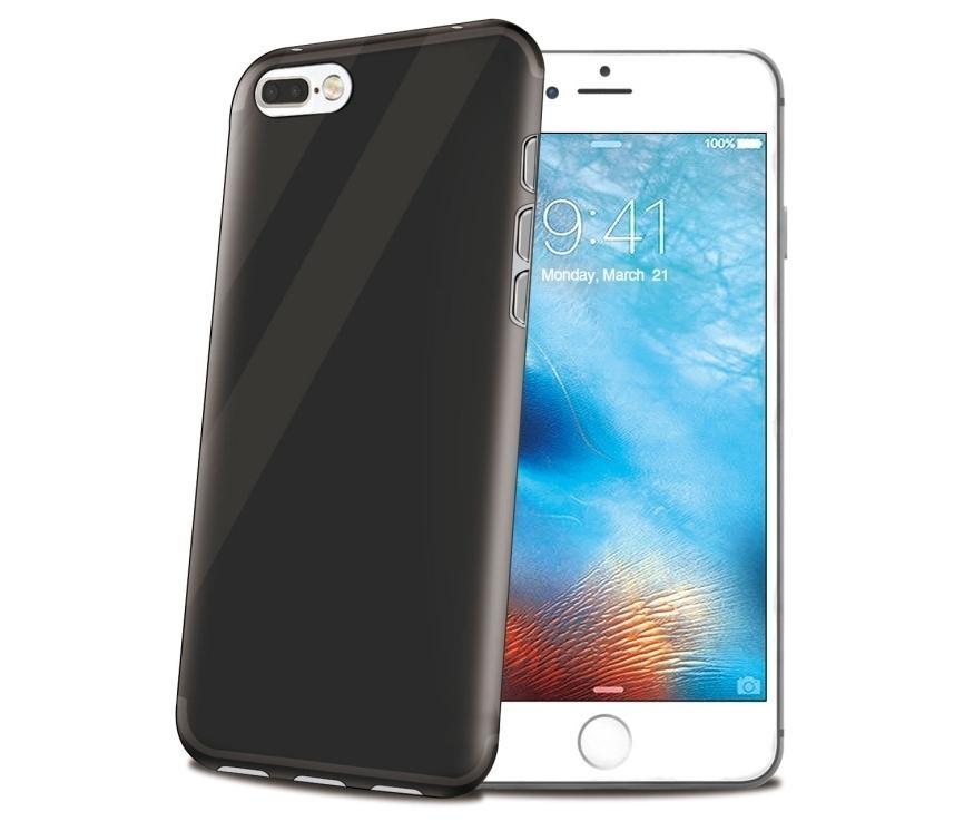 Silikonový obal Celly Gelskin pro Apple iPhone 7, - černý GELSKIN800BK