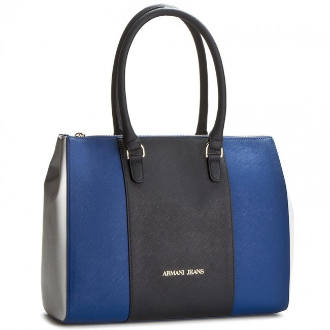 Armani Jeans Kabelka Borsa Shopping Bag Royal Blue