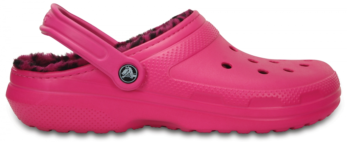Crocs Classic Lined Pattern Clog - Candy Pink/Berry, M5/W7 (37-38)