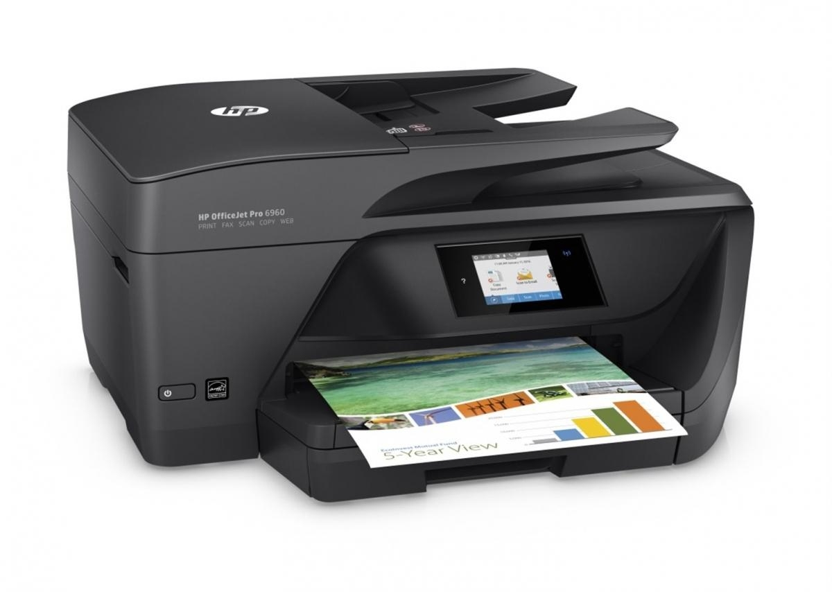 HP All-in-One Officejet Pro 6960 (A4, 18/10 ppm, USB 2.0, Ethernet, Wi-Fi, Print/Scan/Copy/Fax) (J7K33A#625) J7K33A#625