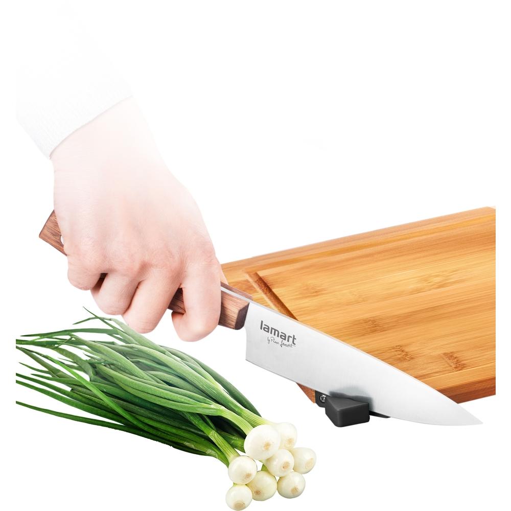 Lamart LT2061 krájecí prkénka s brouskem nožů Bamboo
