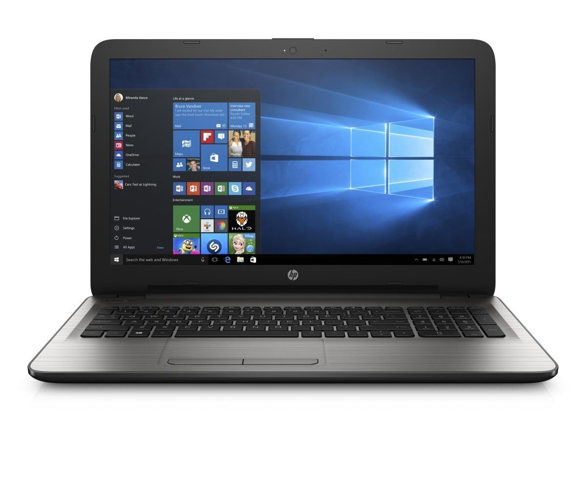 HP 15-ba071nc HD A8-7410/8GB/256SSD/DVD/ATI/2RServis/W10-silver Y5K37EA#BCM